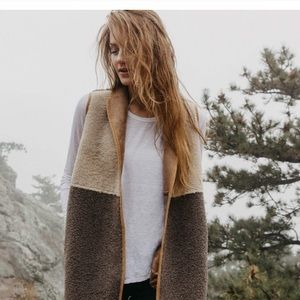 Velvet by Graham and Spencer Faux Shearling Vest